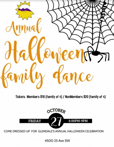 Glendale Calgary Halloween Dance 2017